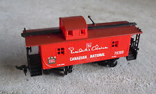 HO Scale President's Choice Canadian National 78389 Red Caboose Car