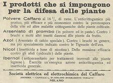W6259 Società elettrochimica del Caffaro - Pubblicità 1934 - Advertising