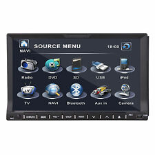 TOP GPS HD Doppio 2DIN autoradio lettore DVD Bluetooth iPod MP3 TV
