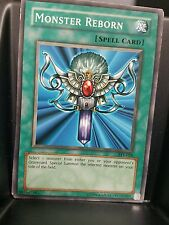 3x (nm to lp) -Monster Reborn - various - Common -  Edition  YuGiOh