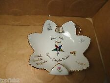 Order Of The Eastern Star Dish, 1968 Naomi Chapter #36 Sacto. (Used/EUC)
