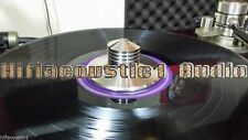 One LP Record Clamp Audio Disc Stabilizer Turntable Solid Steel Audio Grade
