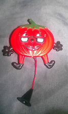 Vintage Pumpkin Pull Pin Great Condition