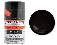 Testors Flat Black, 3oz Spray Paint ~ 28134 ^