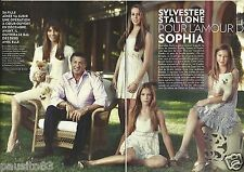 Coupure de presse Clipping 2012 Sylvester Stallone  (8 pages)