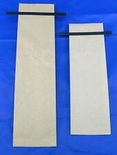 100- 8oz Kraft Side Gusseted Coffee Bags, valve and tin tie- other sizes avail.
