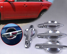Chrome Door Handle Cover + Cup Bowl Fit For Mazda 6 Mazda 3 2004 2005 2006-2009
