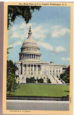Beautiful 1931 Postcard U.S. Capitol Building Washington D.C. Unposted