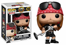 "GUNS N ROSES AXL ROSE 3.75"" POP ROCKS VINYL FIGURE FUNKO BRAND NEW 50"