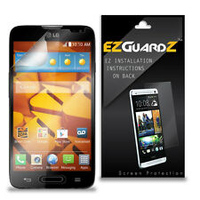 4X EZguardz LCD Screen Protector Skin Cover Shield HD 4X For LG Realm LS620