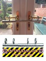 Patio Double French door sliding Deadlock bolt Intruder Lock for extra security
