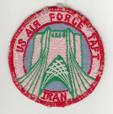 Vintage US Air Force Taft Iran Patch / Insignia