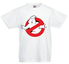 GHOSTBUSTERS Slimer Logo, T Shirt Childrens Kids Size afraid of no Ghost busters
