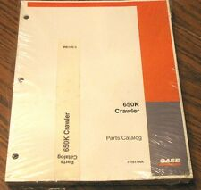 Case 650K Crawler Tractor Parts Catalog Manual Book 7-7611NA Issued 2003 NEW!