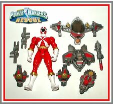 Power Rangers Lightspeed Rescue _ Red (Rescue Armor) Ranger _ Complete