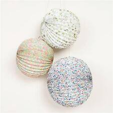 MERI MERI Liberty Mixed Pattern Paper Lanterns (3 Pack) Matching Items Available