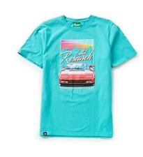 NWT Lifted research Group LRG SPEED OF LIFE Ferrari Testarossa Tee, Turquoise L
