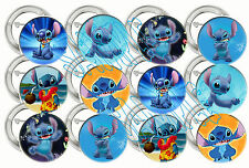 """(Lilo and) Stitch ONLY Movie Large 2"""" Buttons Pins Party Favors (12 Buttons)"""