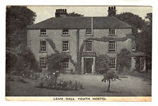 Leam Hall Youth Hostel Photo Postcard c1940s / Midlands