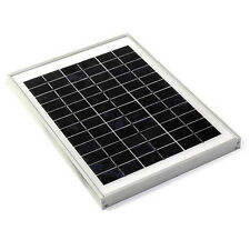 12V Solar Panel 10W, 36 cell,10 Watts with charger/charge controller combo offer