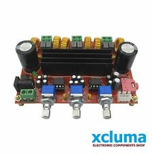 TPA3116 2.1 CHANNEL DC 12V-24V 2*50W+100W XH-M139 DIGITAL Amplifier BOARD BE0958