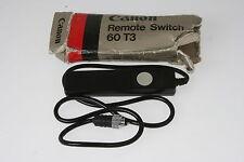 Canon Remote Switch 60T3, mit OVP EOS für die Canon Kameras: EOS 1D/1Ds MK II (N
