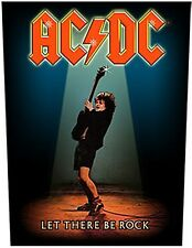AC/DC Let There Be Rock giant backpatch sew-on cloth patch 360mm x 300mm  (mm)