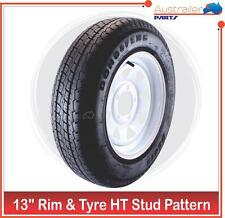 """RIM and TYRE 13 INCH SUNRASIA MULTIFIT FORD and Holden HT 13"""" LIGHT TRUCK"""