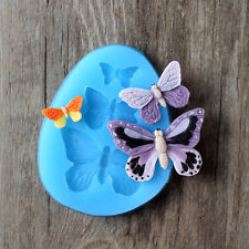 Butterfly Shape Silicone Fondant Mould Resin Clay Crafts Mold Jelly Pudding Form