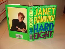 2002 HARD EIGHT Book Janet Evanovich HAND SIGNED Autograph First 1st EDITION