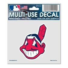 """CLEVELAND INDIANS CHIEF WAHOO 3""""X4"""" MULTI-USE DECAL PERFECT FOR CAR WINDOWS"""