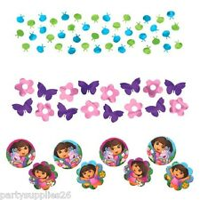 DORA THE EXPLORER PARTY SUPPLIES TABLE CONFETTI VALUE PACK OF 34 GRAMS (1.2 OZ)