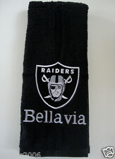 Personalized Embroidered Golf Bowling Workout Towel Raiders Football