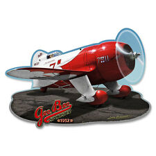 Gee Bee 1932 Sportster Metal Sign Vintage Airplane Decor 17x12