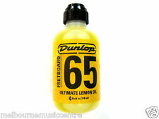 DUNLOP GUITAR FRETBOARD CONDITIONER Lemon Oil *Rejuvenate Rosewood On Neck* NEW!