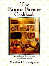 The Fannie Farmer Cookbook by Marion Cunningham (1990, Hardcover, Revised)