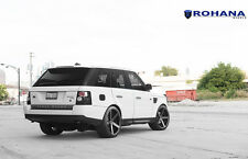 20x11 +45 Rohana RC22 5x120 Black Wheel Fit Land range rover sport Hse 2010 rims