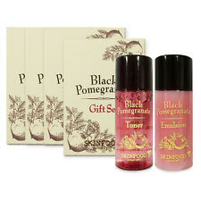 [SKINFOOD] Black Pomegranate Gift Set (Toner+Emulsion) Sample 4 Set (5ml*8pcs)