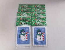 500 Bolsas de Fiesta de plástico Frozen muñeco de nieve-Decoraciones de Navidad Fiesta De Invierno &