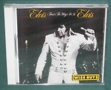 Elvis Presley RCA 54114-2 That's The Way It Is CD SEALED Original