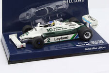 Carlos Reutemann Williams FW07C #2 Gangant Belgique GP Formule 1 1981 1:43