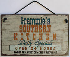 Grammie  s Sign Southern Kitchen Grandma Fried Country South Barbecue Cook ing