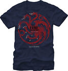 GAME OF THRONES - Targaryen On Blue:T-shirt NEW - SMALL ONLY