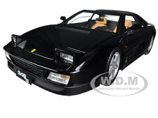 FERRARI 348 TS ELITE EDITION BLACK 1/18 DIECAST MODEL CAR BY HOTWHEELS X5481