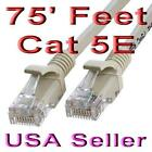 75 Feet RJ45 High Speed UTP 24AWG Cat5e Networking Cable Ethernet LAN Patch NEW