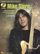 Mike Stern Guitar Signature Licks Learn to Play Jazz TAB Music Book & CD