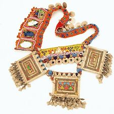 Afghan Tribal Bellydance Dangles BELT Turkoman 867u4