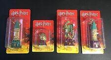 4 x HARRY POTTER CHESS PIECES DeAgostini FIGURINES Dragon CASTLE Lot EGG Sealed