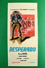 L11 LOCANDINA DESPERADO MORRIS WAYNE BEVERLY GARLAND LEE VAN CLEEF JAMES LYDON