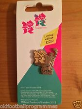 LONDON 2012 OLYMPICS TORCH RELAY (EXETER) PIN BADGE (20.05.2012)